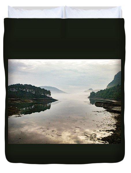 Plockton, Highlands, Scotland,  Duvet Cover