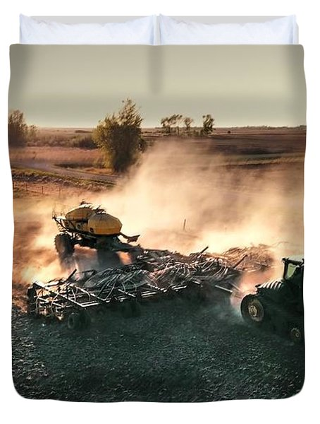 Plow The Fields And Scatter  Duvet Cover