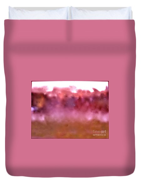 Plum Fairies Duvet Cover