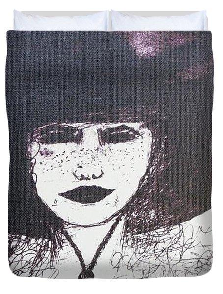 Plum Gorgeous Duvet Cover by Susan Gahr