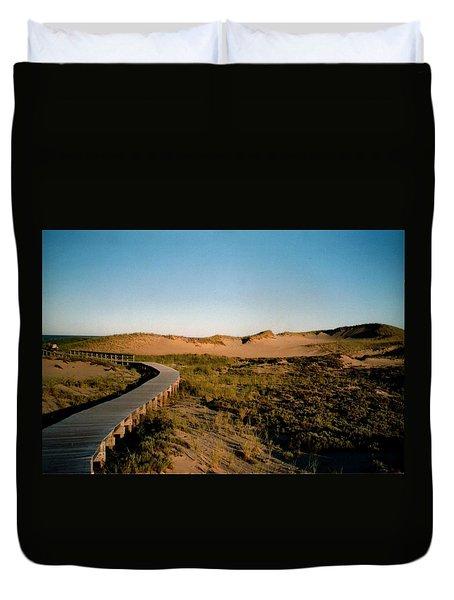 Plum Island Dunes Duvet Cover