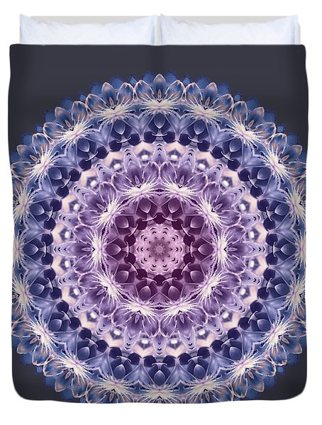 Plum Lovely Duvet Cover