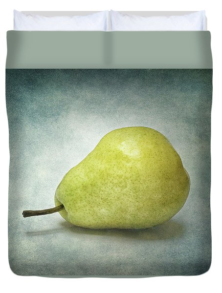 Plump Pear Duvet Cover by Kathi Mirto