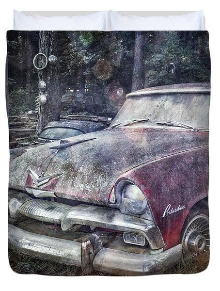 Duvet Cover featuring the photograph Plymouth Belvedere by Debra and Dave Vanderlaan