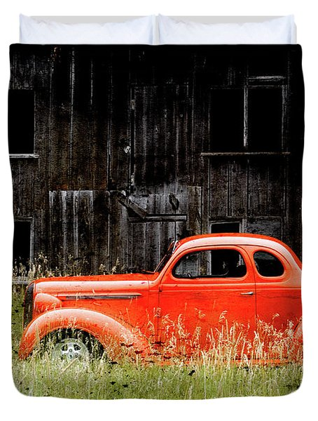 Plymouth Hot Rod Duvet Cover