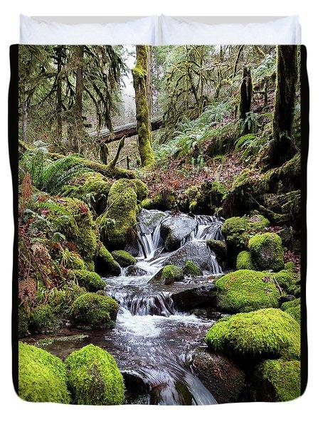 Pnw Forest Duvet Cover
