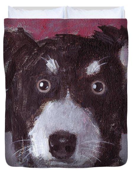 Po The Dog Duvet Cover