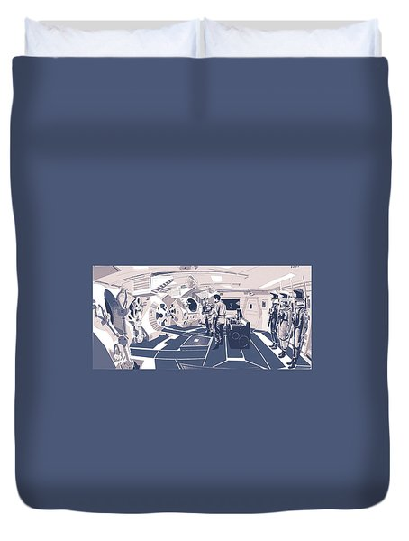 Pod Bay Duvet Cover