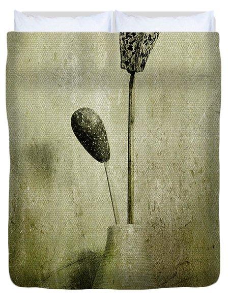Pods In A Vase Duvet Cover