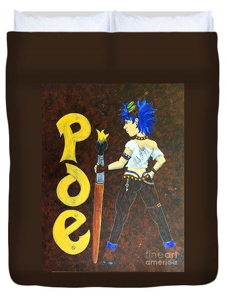 POE Duvet Cover