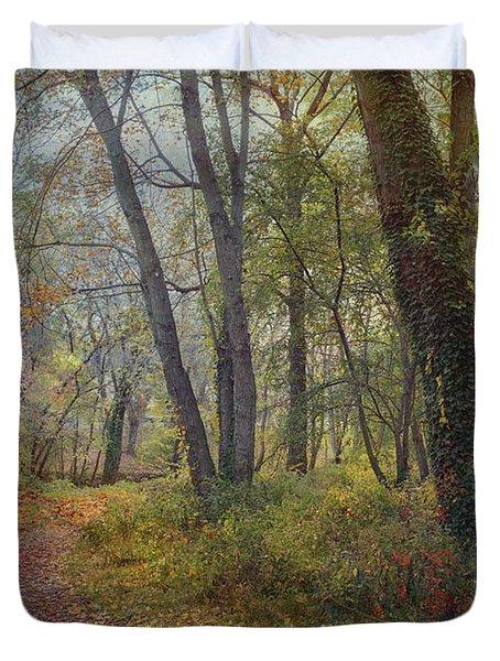 Poetic Season Duvet Cover