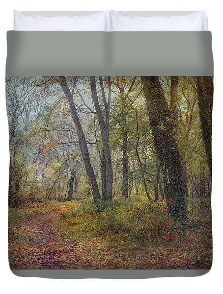 Poetic Season Duvet Cover