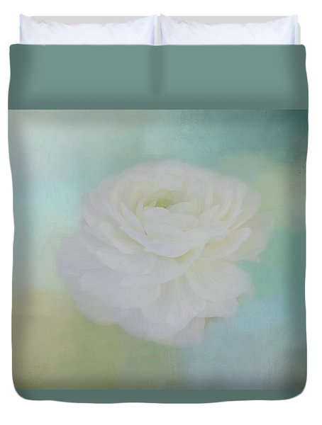 Duvet Cover featuring the photograph Poetry Dreams by Kim Hojnacki