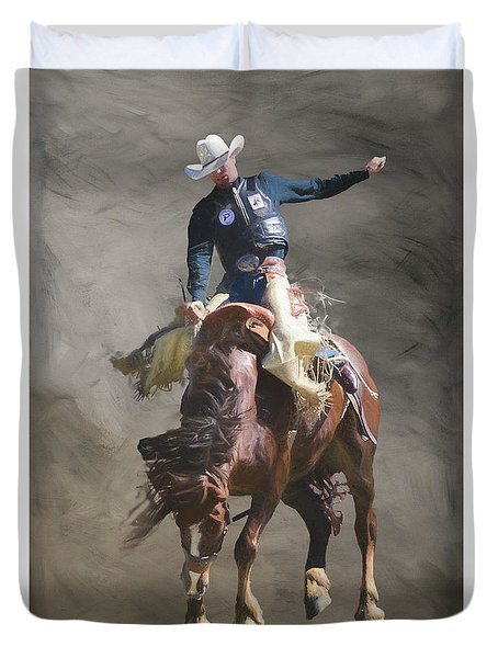 Poetry In Motion Duvet Cover