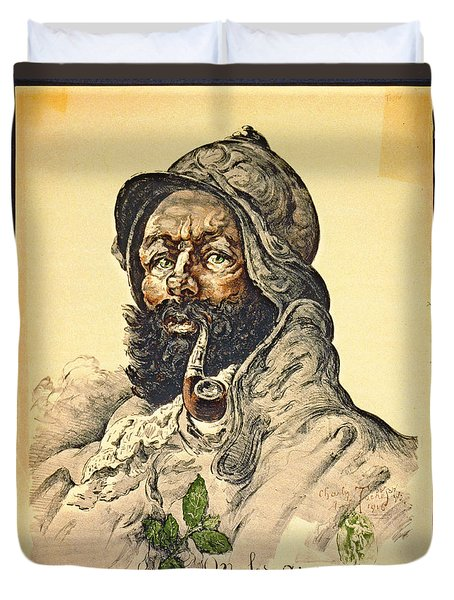 Poilu 1916 Duvet Cover by Padre Art