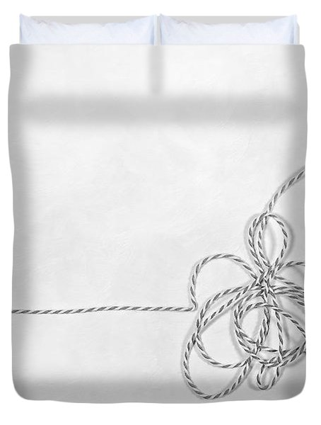Point A To Point B Duvet Cover