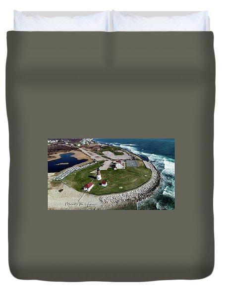 Point Judith Easter Cross Duvet Cover