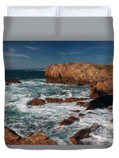 Point Lobos 1 Duvet Cover