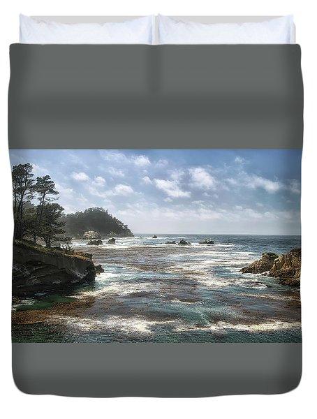 Point Lobos Duvet Cover