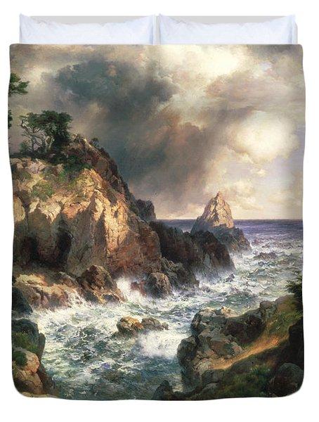 Point Lobos Monterey California Duvet Cover