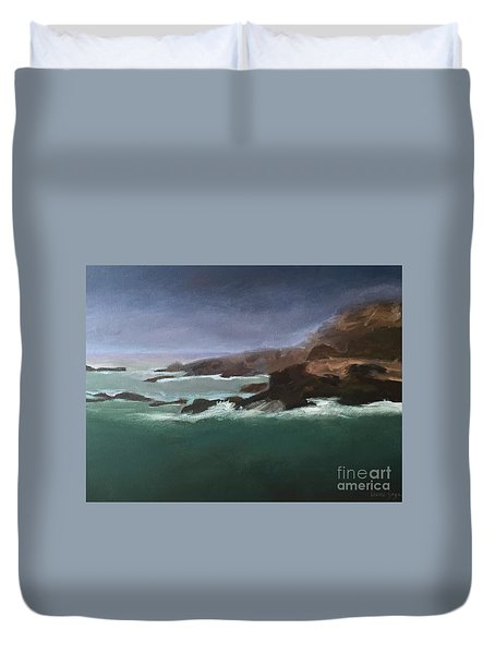 Point Lobos Monterey Duvet Cover