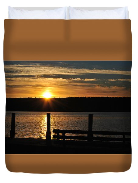 Point Of Interest Duvet Cover