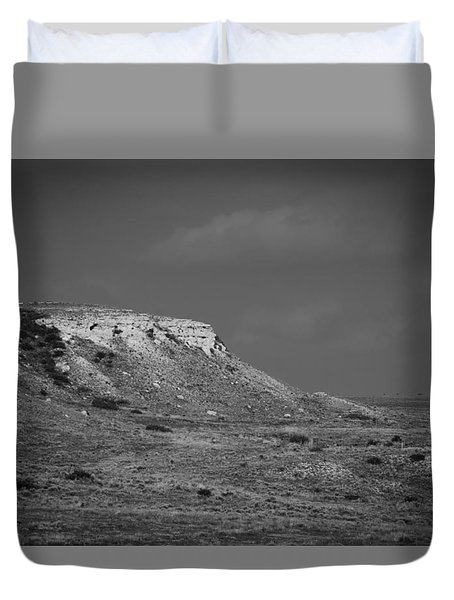 Point Of Rocks Duvet Cover