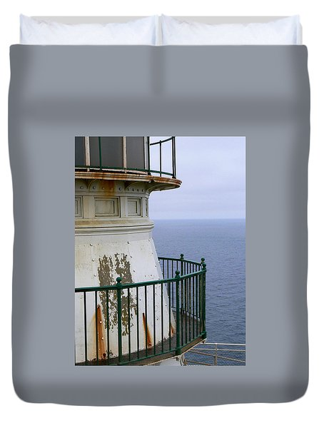 Point Reyes And The Pacific Ocean Duvet Cover