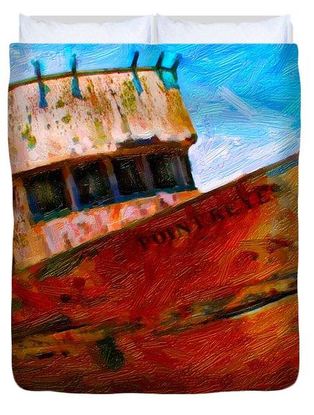 Point Reyes Duvet Cover