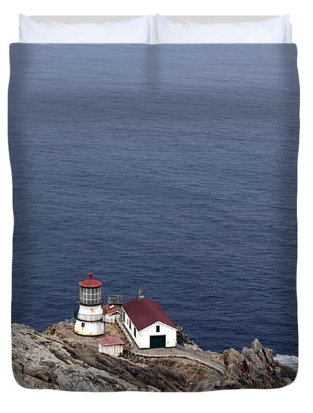 Point Reyes Lighthouse Duvet Cover