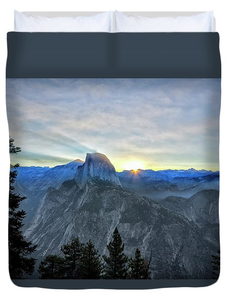 Point Rise Duvet Cover