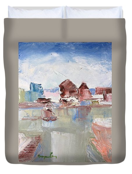 Point San Pablo 2 Duvet Cover