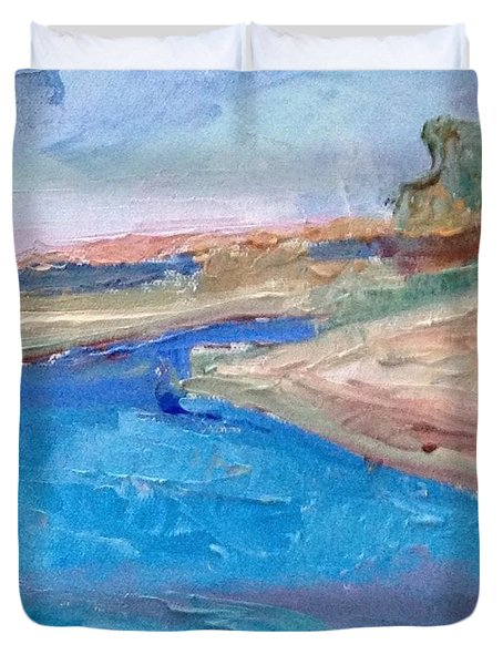 Point San Pablo Duvet Cover