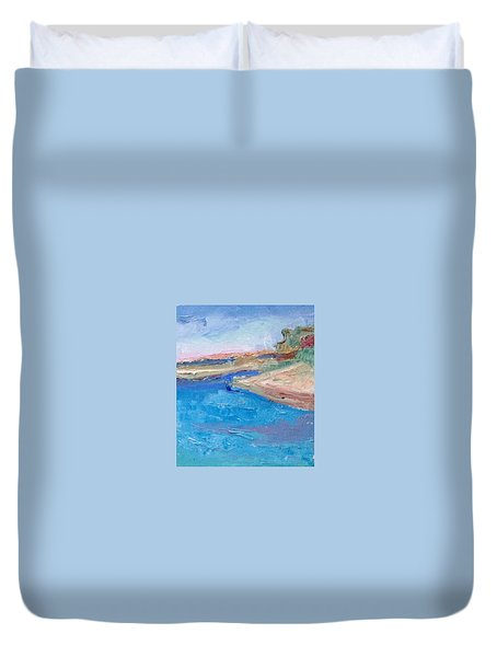 Point San Pablo Duvet Cover