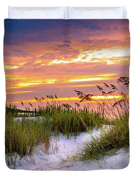 Point Sunrise Duvet Cover