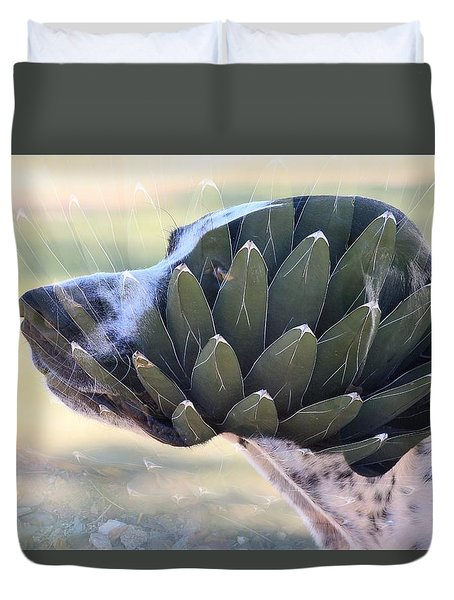 Pointing Skywards 1 Duvet Cover