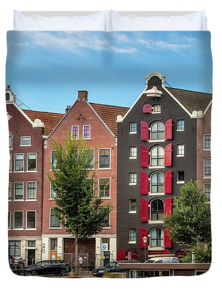 Pointing To The Sky Duvet Cover