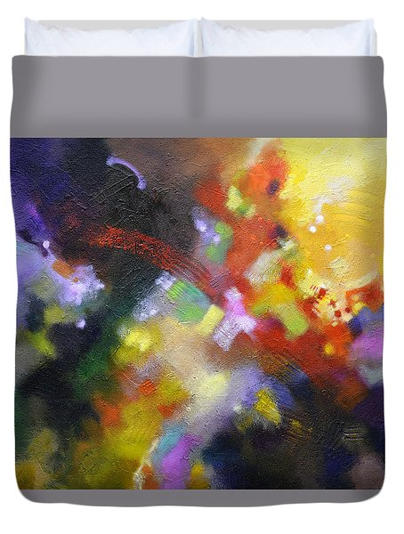 Points Of Light Duvet Cover