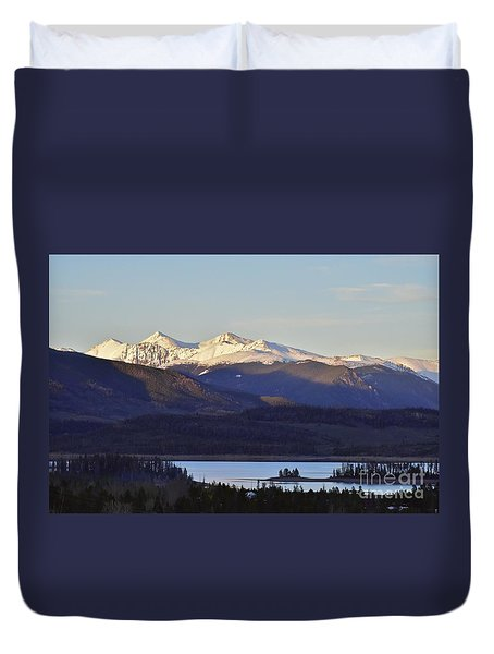Points Duvet Cover