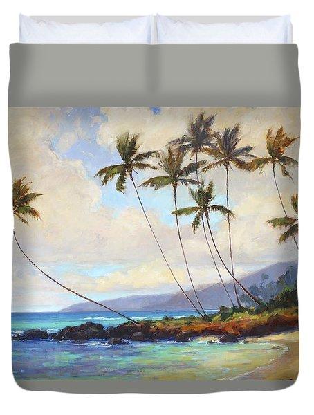 Poipu Beach  Duvet Cover