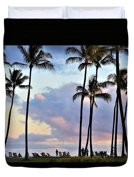 Poipu Beach Duvet Cover