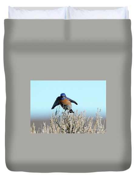 Poised To Fly Duvet Cover