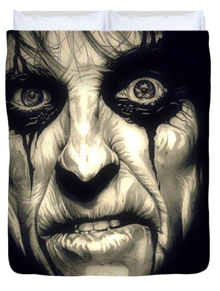 Poison Alice Cooper Duvet Cover
