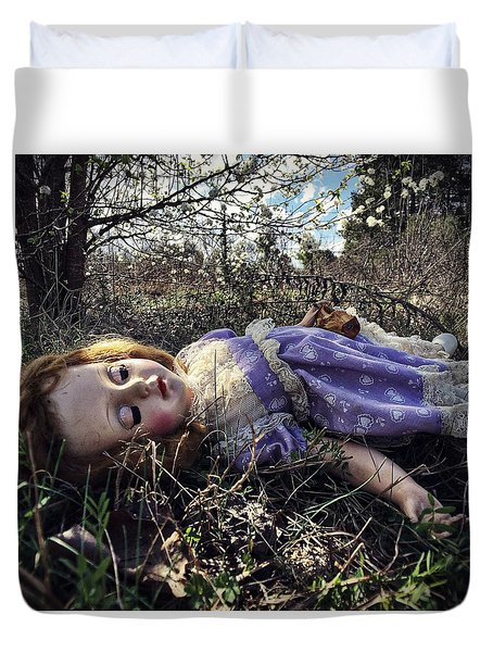 Poison Apple Duvet Cover