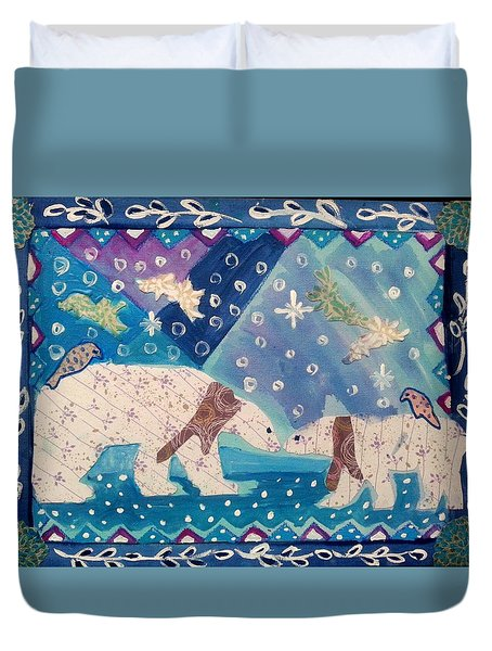 Polar Love Duvet Cover