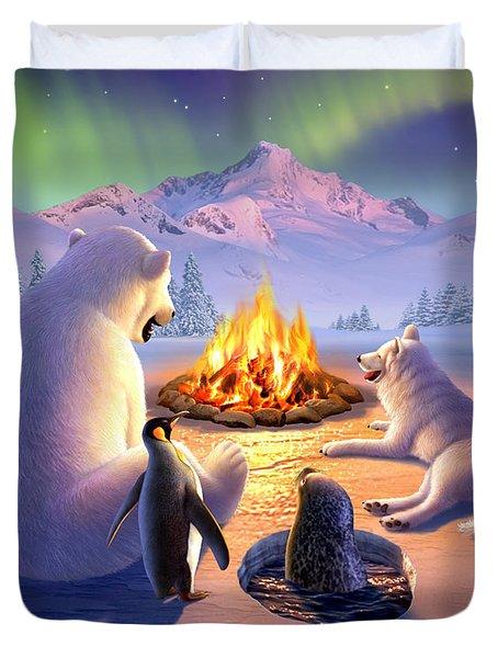 Polar Pals Duvet Cover