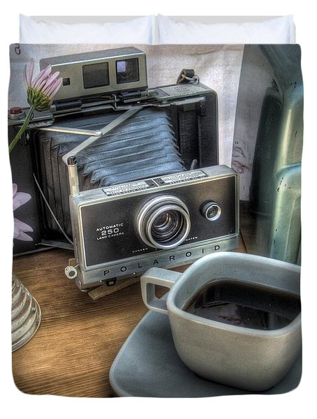Polaroid Perceptions Duvet Cover