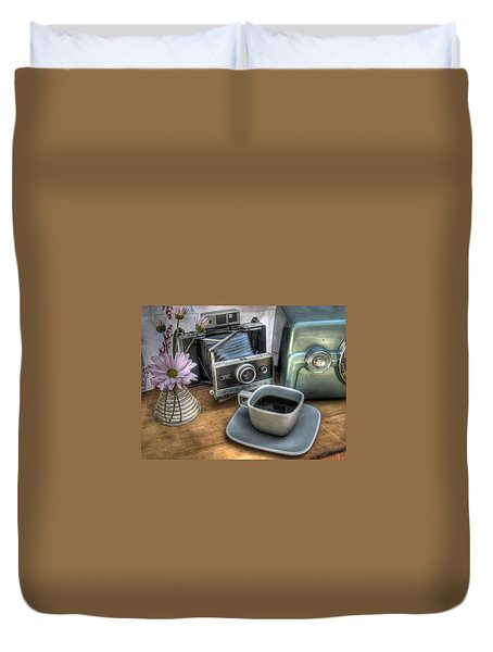 Polaroid Perceptions Duvet Cover