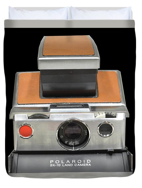 Polaroid Sx-70 Land Camera Duvet Cover