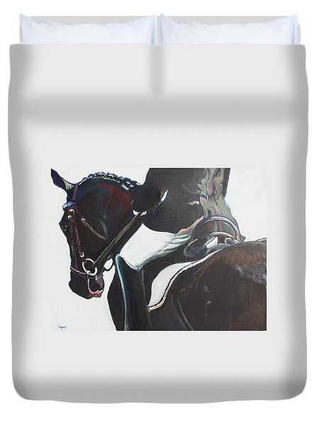 Polish And Shine Duvet Cover by Stephanie Come-Ryker